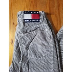 Vtg Tommy Hilfiger high waist work pants